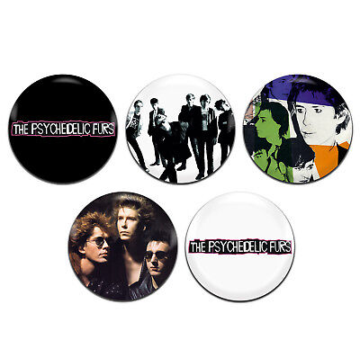 5x The Psychedelic Furs Band Punk New Wave 25mm 1 Inch D Pin Button Badges