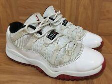 2ec670eb66a94e item 5 RARE🔥 Nike Air Jordan 11 XI Retro Low White Varsity Red Bred Sz 2Y  505835-111 -RARE🔥 Nike Air Jordan 11 XI Retro Low White Varsity Red Bred Sz  2Y ...