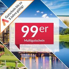 Multi Hotelgutschein 3 Tage 2 Personen über 100 Hotels z.B. Venedig Wien Prag