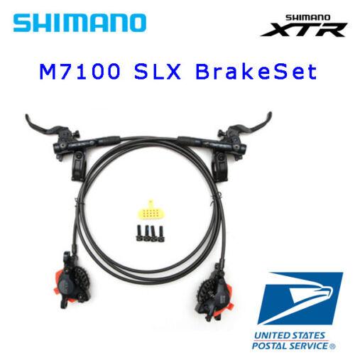 New SHIMANO SLX BR-BL-M7100  Disc Brake Set Hydraulic MTB OE