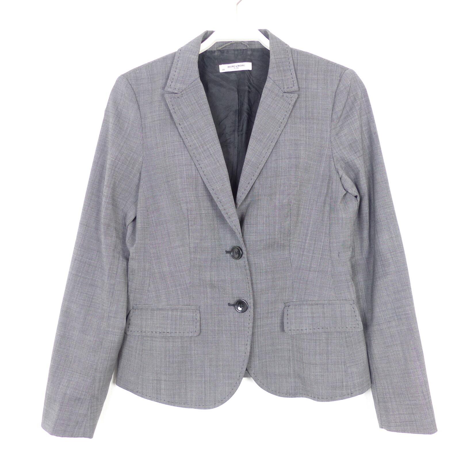 More & & & More mix and match Vestito Gonna Pantaloni Blazer STRUTTURA NERO MIS. 38 bbffe9
