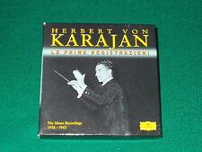 Le Prime Registrazioni di Karajan  box 6 cd