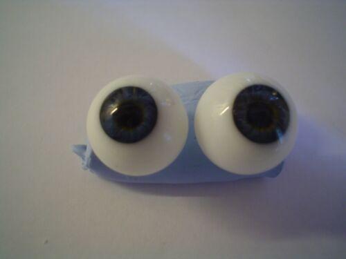 Rejeter verre soufflé poupée yeux dans différentes tailles lire description
