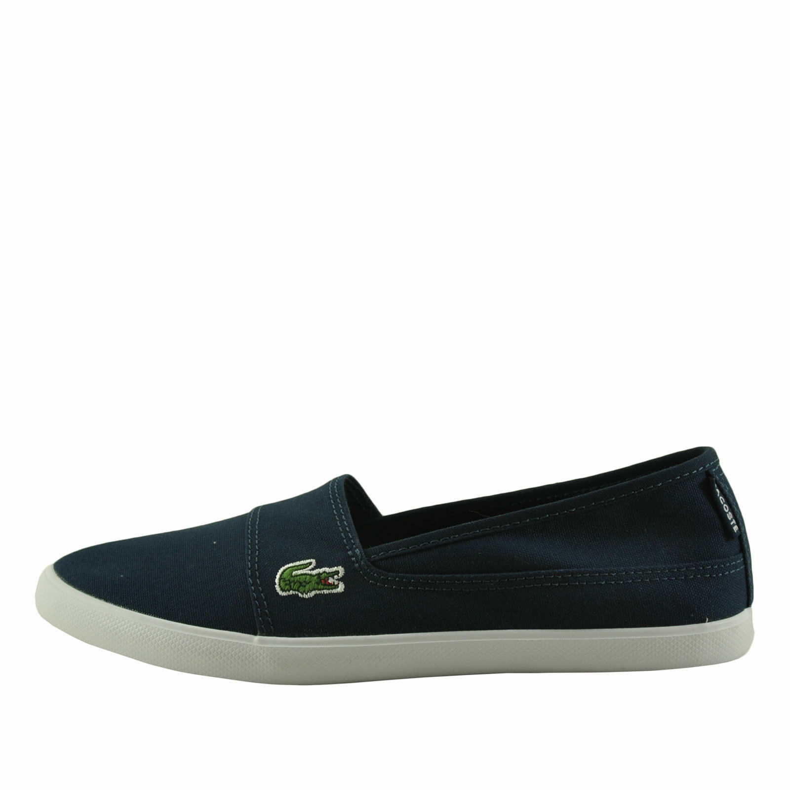 Lacoste Marice BL 2 Navy Women's SPW CNV Slip On 7-32SPW0142003