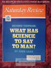 Saturday Review July 1 1967 NELS F S FERRE SCIENCE CLARK M. EICHELBERGER