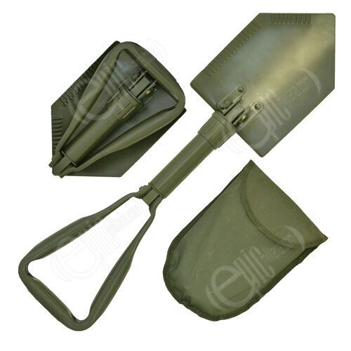 Vert Olive OTAN Type pelle pliable-EXTRÊME Militaire Armée Pelle avec étui neuf