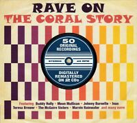 RAVE ON - THE CORAL STORY  - 50 ORIGINALS  (NEW SEALED 2CD)
