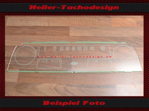 Aufkleber Chevrolet C10 1966 100 Mph zu 160 Kmh Set Tachoscheibe Frontglas
