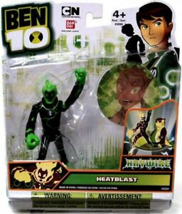 Figurine d'action Ben 10 Ultimate Heatblast haywire