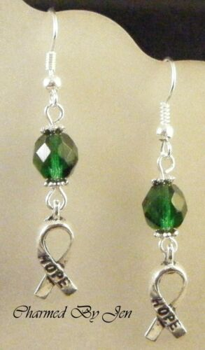 CEREBRAL PALSY Awareness Earrings w// HOPE Charms