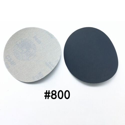 20pcs 5inch Hook/&Loop Wet//Dry Sanding Discs 800 1500 2000 3000 Grit Sandpaper