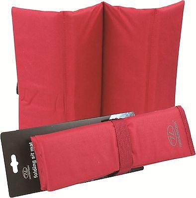 Outdoor Sports Home & Garden Objective Highlander Thick & Comfy Folding Sit Mat Camp Walking Gardening Festival