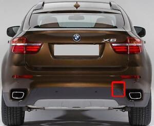 BMW-NEW-GENUINE-X6-SERIES-E71-E72-REAR-O-S-RIGHT-BUMPER-TOW-HOOK-COVER-7176252