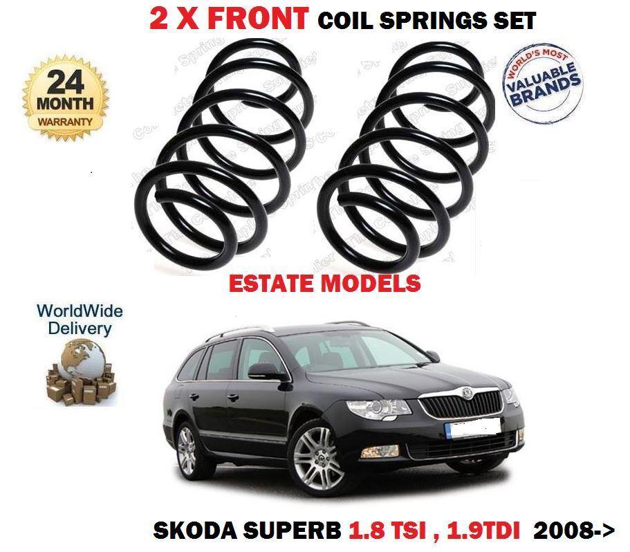Für Skoda Superb 1.8 TSI 1.9 Tdi nur Kombi 2009-   2 X Vorderen Schraubenfedern