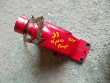 Massey Harris 33 Tractor Original Front Hydraulic Pump Oil Fill Bracket