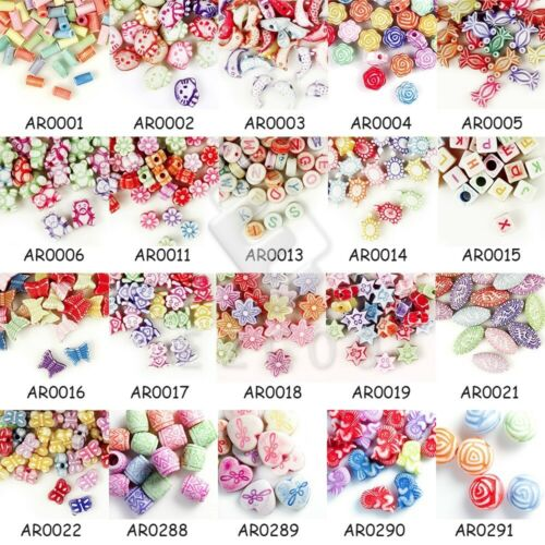 162pcs Animal Acrylic Beads Charms Jewelry 10x9.5x3.5mm Mixed Color AR0017