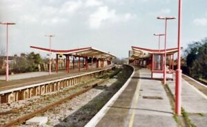 PHOTO-KENT-FOLKESTONE-CENTRAL-RAILWAY-STATION-1997