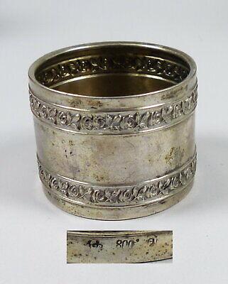 Genossenschaft Serviettenring Aus 800 Silber Mit Rosen (da5668) Moderate Kosten