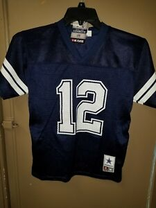 Details about NEW *NFL DALLAS COWBOYS YOUTH #12 JERSEY SIZE MEDIUM