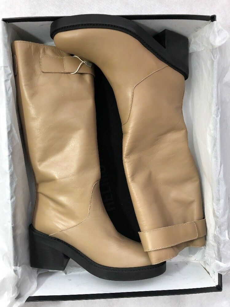 Helmut Lang women shoes Boots Size Size Size 6 NIB Nude Leather 8c5a72