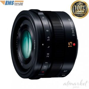 Panasonic-LUMIX-G-LEICA-DG-SUMMILUX-15mm-F1-7-ASPH-H-X015-K-Black-JAPAN