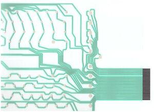 Atari 800XL/600XL keyboard membrane, Keyboard Slide. Keyboard Membrane for Atari