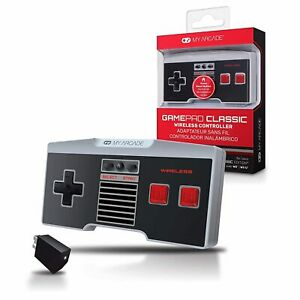 Wireless Game Controller My Arcade Game Pad Compatible with Nintendo NES Classic