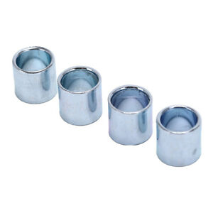4pcs-Sliver-Axis-Sleeve-Speed-Kit-Bearing-Spacer-Inline-Skate-Axle-Bushing-RS