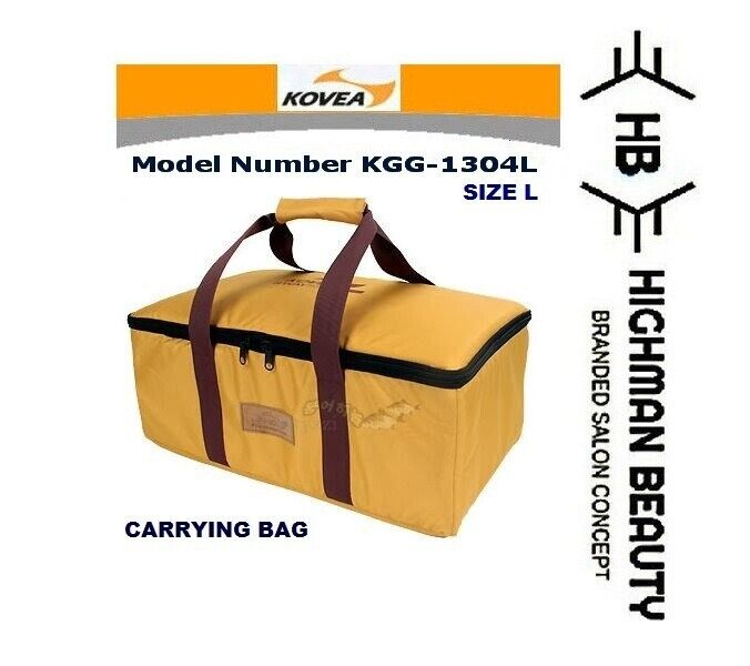 KOVEA L-Größe Carry bag Only All-in-one GAS Stove KGG-1304 OUTDOOR BBQ Camping