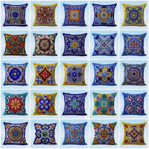 wholesale 50 interior home cushion covers talavera Mexican Spanish