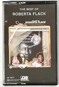 The Best of ROBERTA FLACK Cassette Tape 1981 Atlantic CS 19317