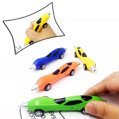 Korean Novel Car Ballpoint Pen Stationery Fun Cartoon Racing Shape Student Gift
