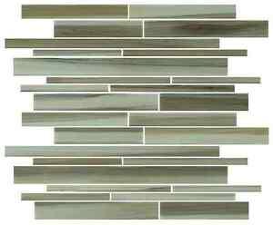Details About Utaupia Hand Painted Linear Gl Mosaic Tiles Backsplash Bathroom Tile