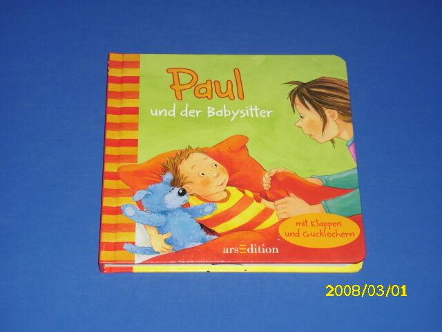 Paul und der Babysitter - mit Klappen ab 2 Jahre