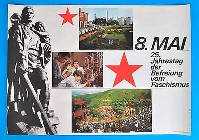 Ddr Plakat Poster 1346 | 8. Mai 1970 25. Jt Der Befreiung | 81 X 58 Cm Original Geeignet FüR MäNner Und Frauen Aller Altersgruppen In Allen Jahreszeiten