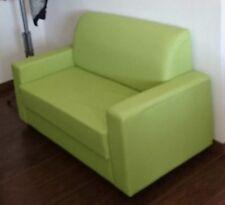 Divano 2 Posti Da Ufficio In Finta Pelle Colore Verde Realizzabile Tutti Colori