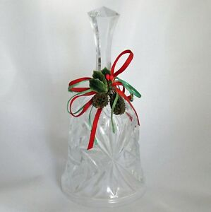 Cut-Glass-Christmas-Dinner-Bell-Holiday-Decoration