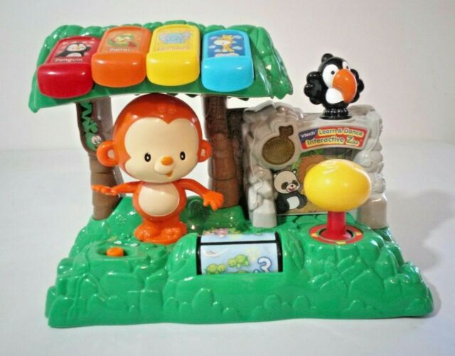 VTech Learn & Dance Music Interactive Zoo Monkey Baby ...