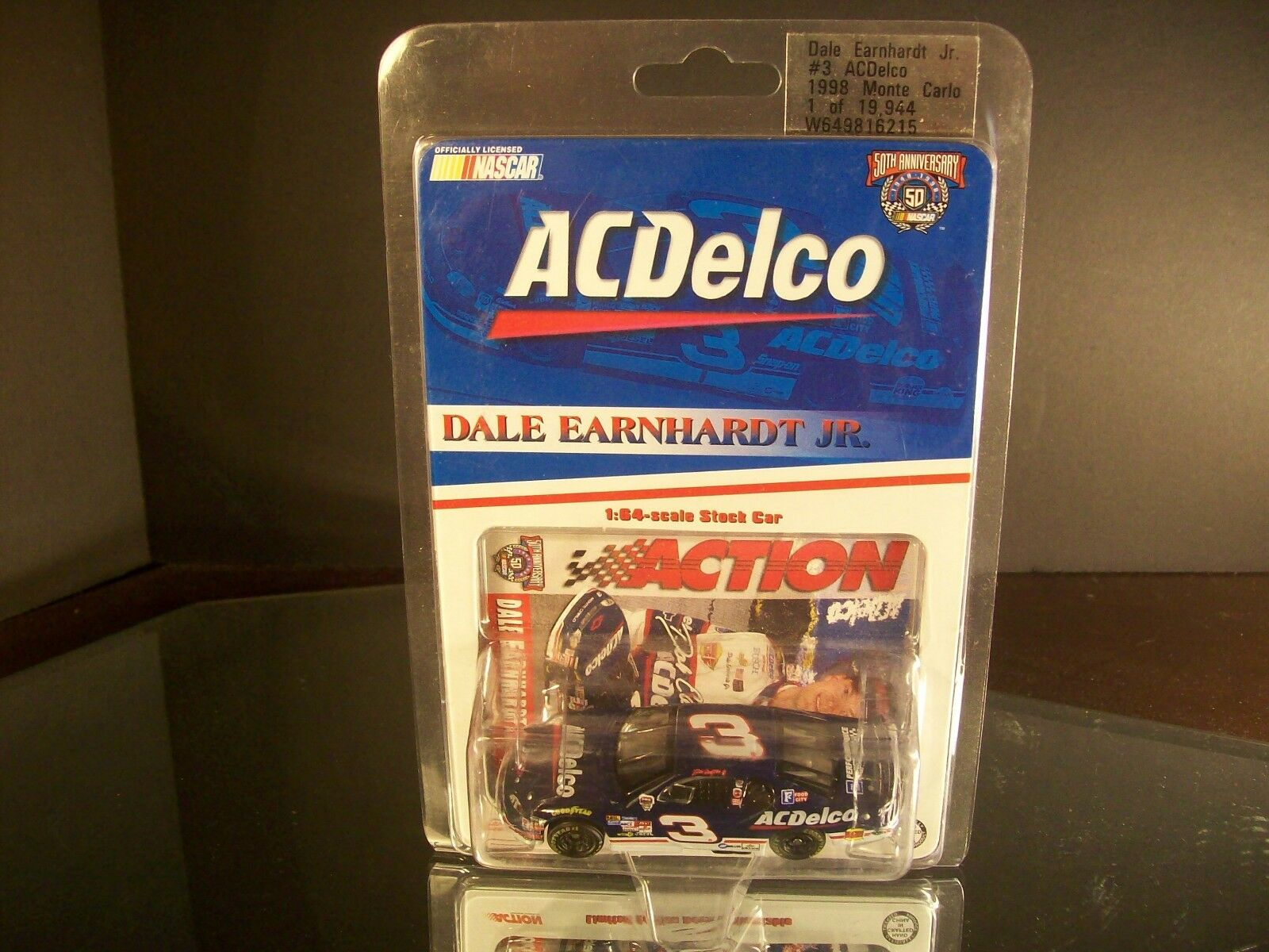 Rare Dale Earnhardt Jr AC-Delco 1998 Chevrolet DEI 1st Championship Rookie