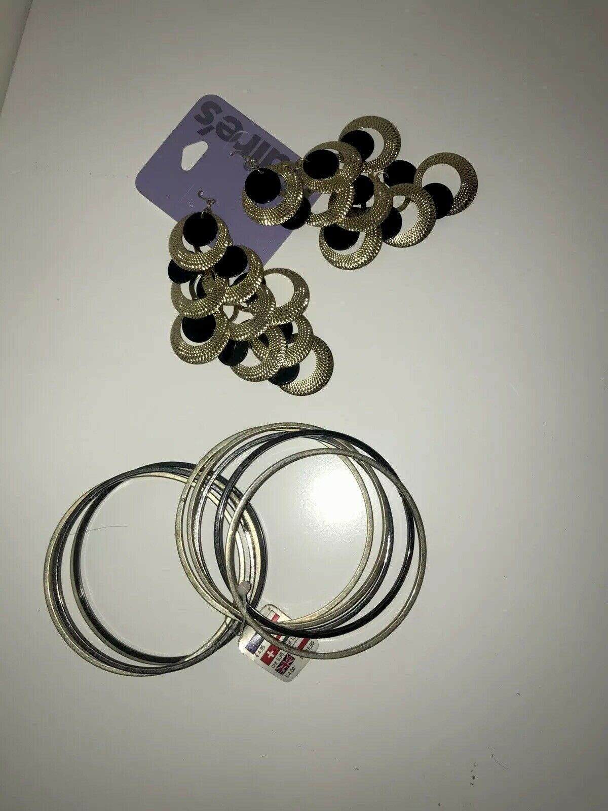 claires accessories earrings And Bangle Set Bundle. BRAND NEW