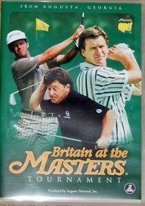 BRITAIN AT THE MASTERS 2 X DVD GOLF FILMS UNWANTED XMAS GIFT PRESENT - hull, Humberside, United Kingdom - BRITAIN AT THE MASTERS 2 X DVD GOLF FILMS UNWANTED XMAS GIFT PRESENT - hull, Humberside, United Kingdom