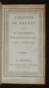 Tablettes-de-Rennes-et-du-departement-d-039-Ille-et-Vilaine-pour-l-039-annee-1907