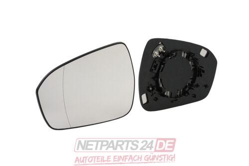 Ford Mondeo 5 V 14 09//14 Neu lagernd Außenspiegel-Ersatzglas Spiegelglas links