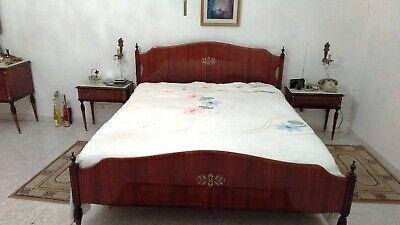 CAMERA DA LETTO MATRIMONIALE COMPLETA ANNI 50 VINTAGE no restauro   eBay
