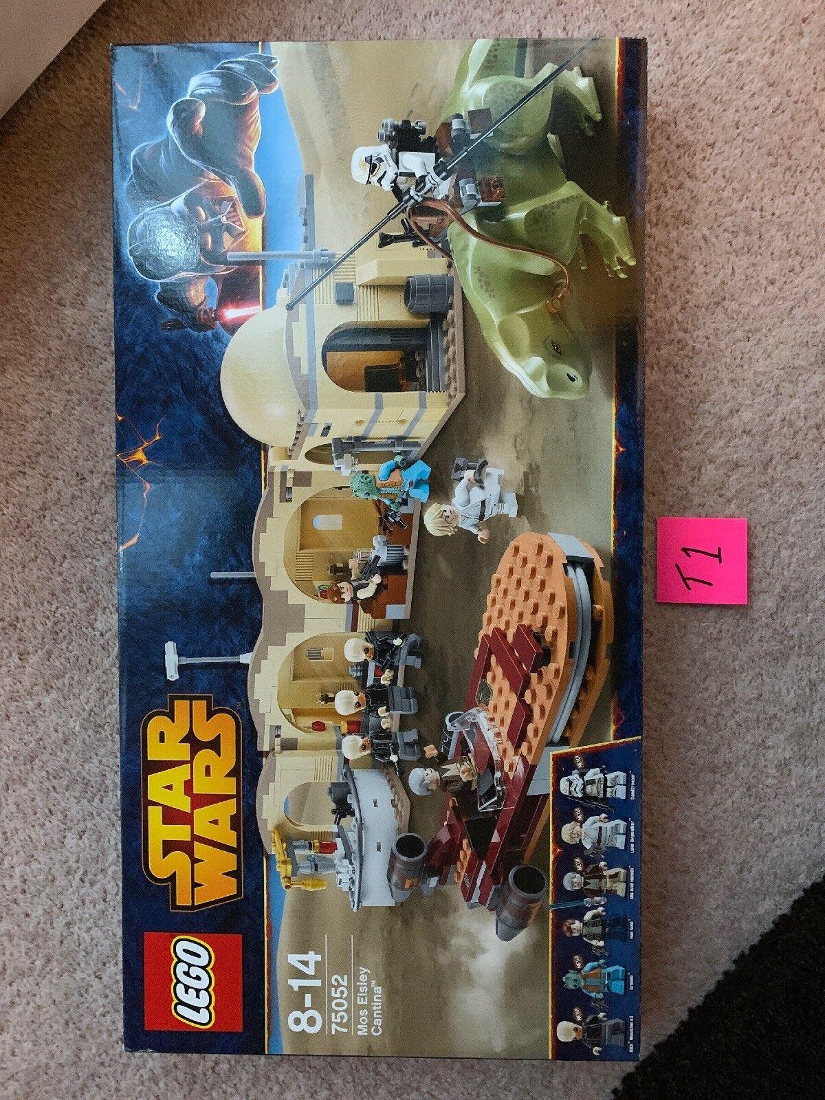 LEGO 75052 Star Wars Mos Eisley Cantina - Retired 2014 BNISB Factory sealed - T1
