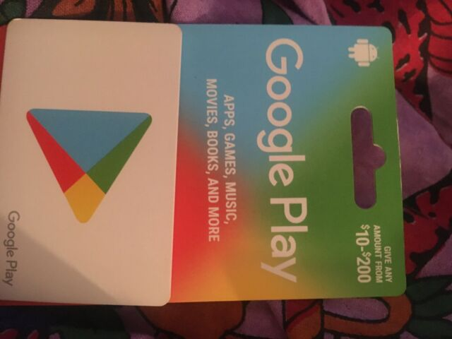 $200.00 google play gift card
