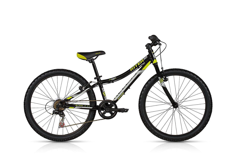 Kinder Mountainbike NEU OVP KELLYS KELLYS KELLYS Kiter MTB 30 Junior BIKE Schwarz Gelb 24  Top 102c4a