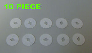 10x-Engine-Under-Cover-Washer-Plastic-Clips-AUDI-SEAT-SKODA-VW-4A0805137A