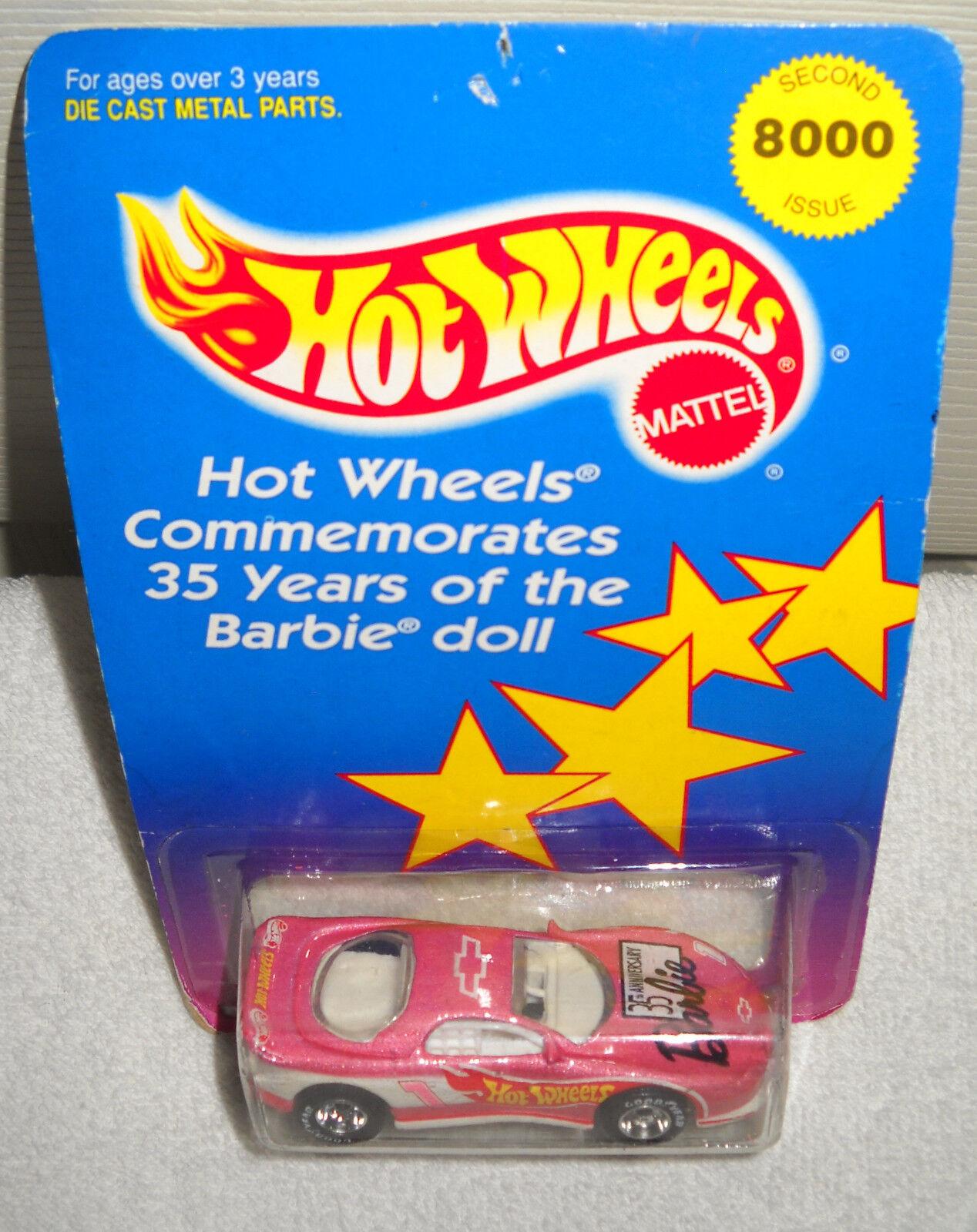 Nrfc Hot Wheels 1994 35th aniversario Barbie CAMARO coche
