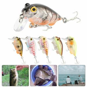 Mini-Fishing-Lure-Shallow-Plongee-en-eau-profonde-Articule-Crankbait-Hard-Bass-Bait-Outil-Nouveau
